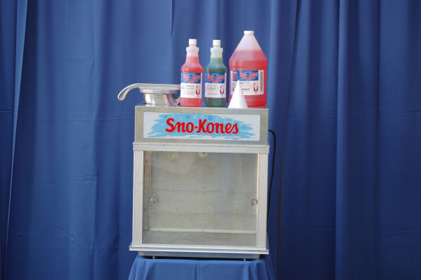 Sno Cone Machine Instructions